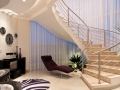 5-Cream-plum-Living-space-hallway-sweeping-staircase