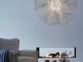 white-Unique-Sculptural-Pendant-Lamp-Made-of-Metal-Coil-600x900