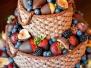 Торты - необыкновенно красивое оформление...