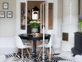Black-and-White-Dining-Room-Ideas-With-Glass-Doors
