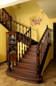 Комбинированные лестницы.