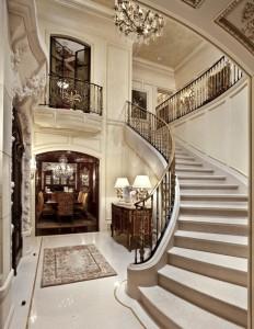 Криволинейные лестницы.