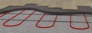 Система электрического кабельного теплого