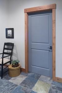 Цвет двери под цвет плитки