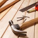 Как устранить скрип лестницы