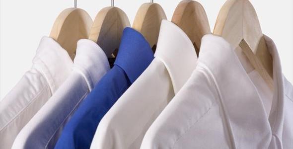 Стираем белые рубашки без проблем