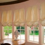 Австрийские шторы в современных интерьерах