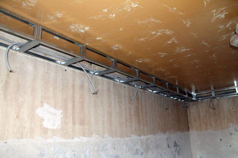 Короб из гипсокартона своими руками на потолке