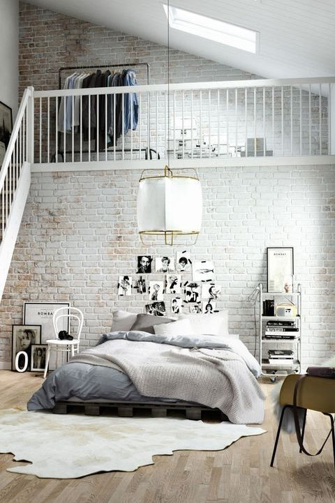Система хранения в спальне
