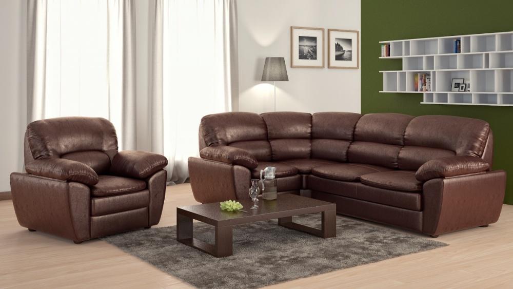 Наполнитель в виде пружинных блоков делает диван упругим и удобным