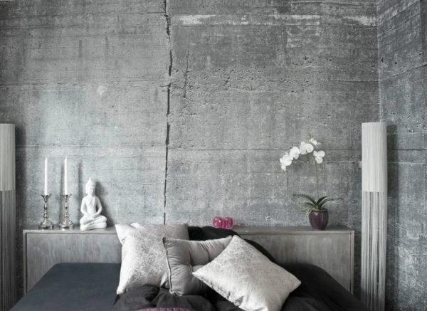 Штукатурка имитирующая бетон