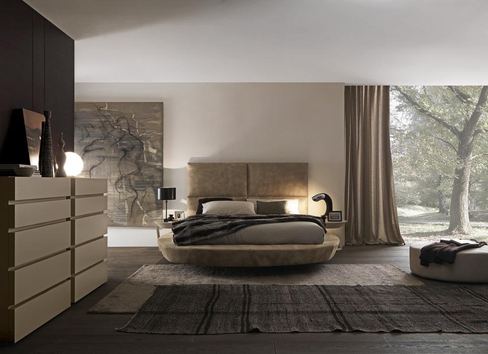 Минималистский стиль в спальне.