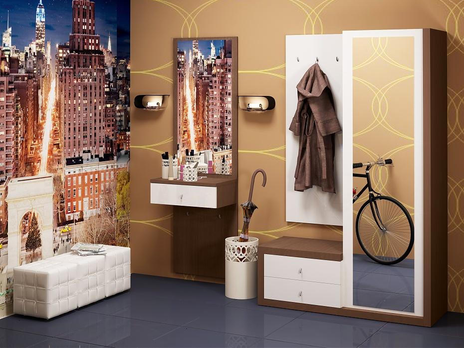 Оформление мебели в прихожей