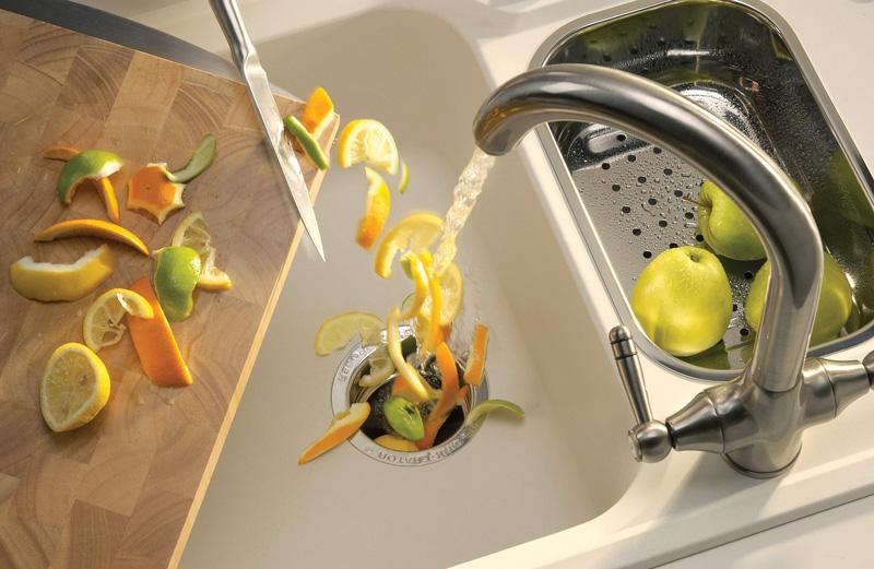 Кухонный измельчитель пищевых отходов для раковины