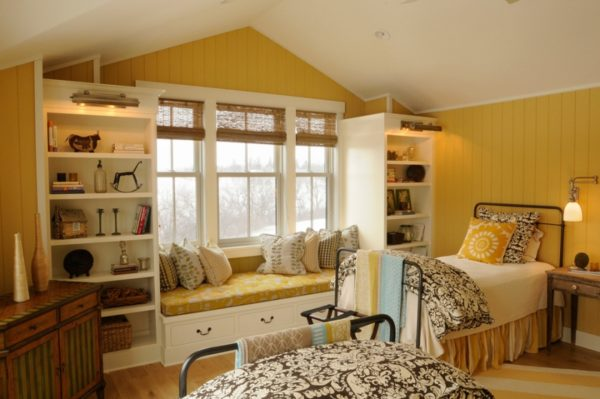 Применяйте разные текстурные слои в постельном белье