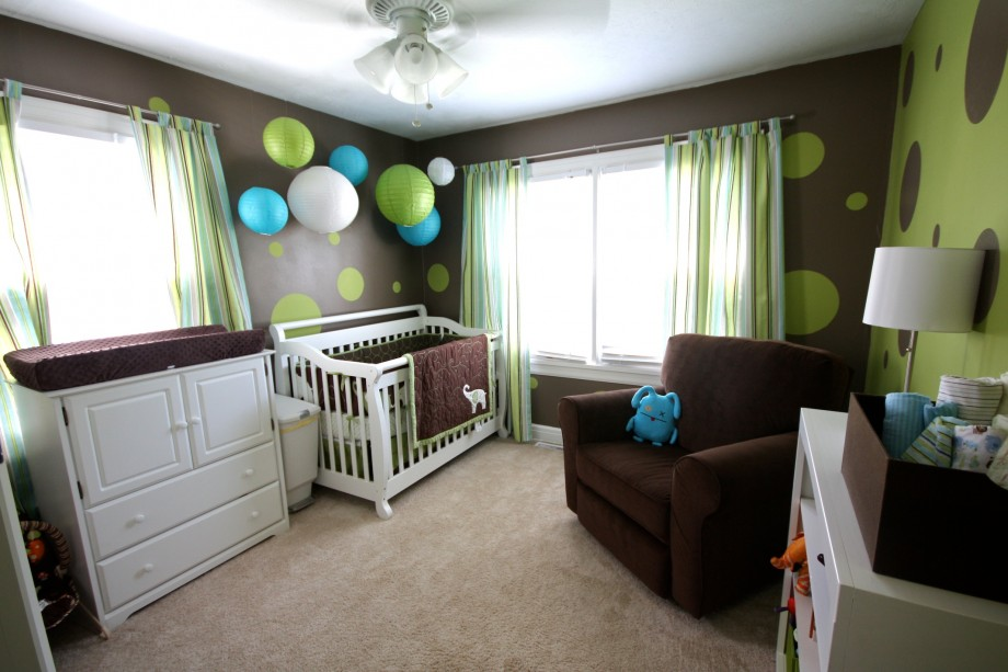 nursery-for-baby-boy-brown-green-and-blue-room-ideas