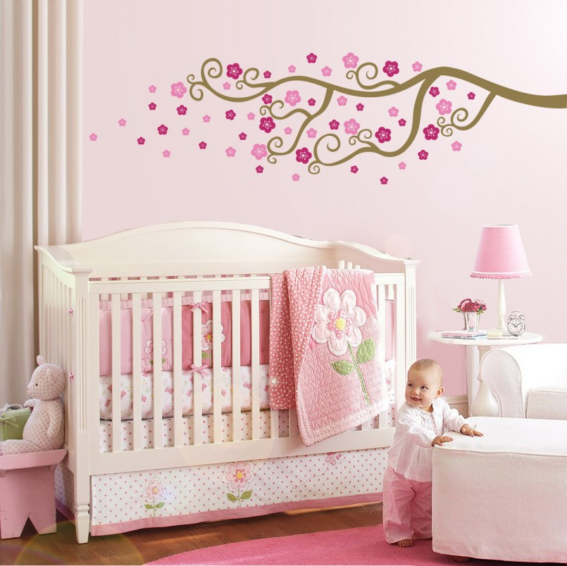 pink-design-children-room-with-flower-wall-painting-010-IMAGE-805x804