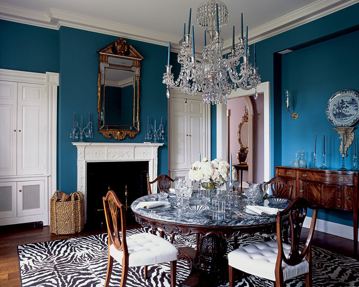 1350890628dining-room-Waterford-Crystal-chandelier-1840-marble-topped-indian-colonial-table