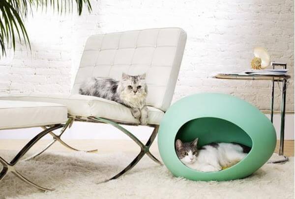 Оригинальная кровать для небольших животных