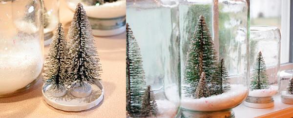 Зима в миниатюре