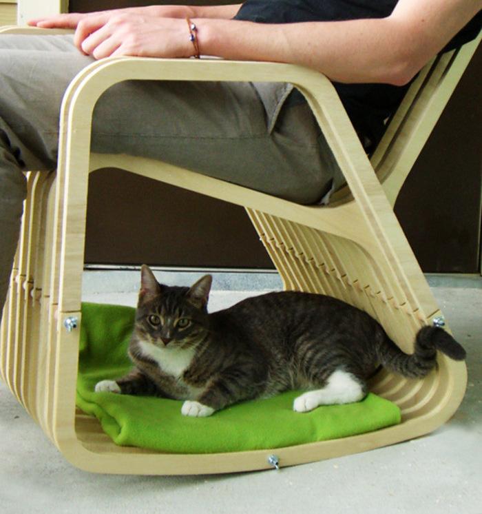 Кресло-качалка для друзей