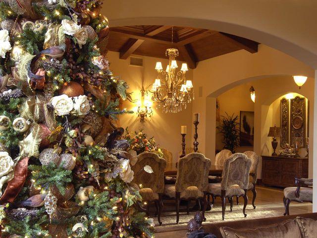 Украшение дома на Новый год по фен-шуй