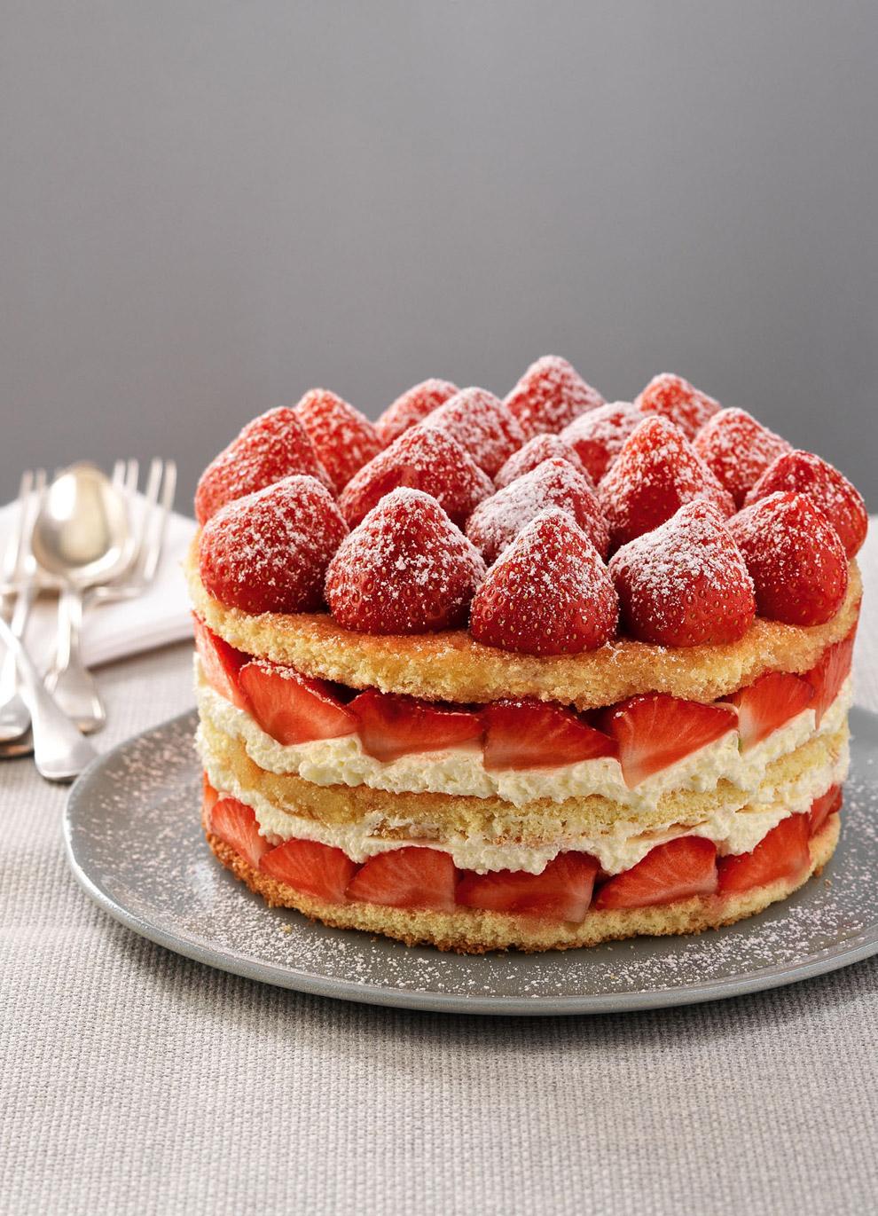 Рецепт торта с клубникой пошагово фрезье