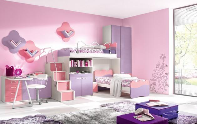 Оформление комнаты для принцессы