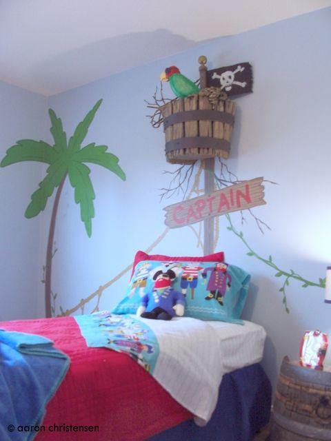 Оформление детской комнаты в пиратском стиле