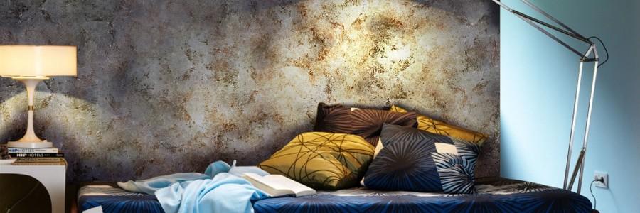 Способы обновления стен флоковой краской