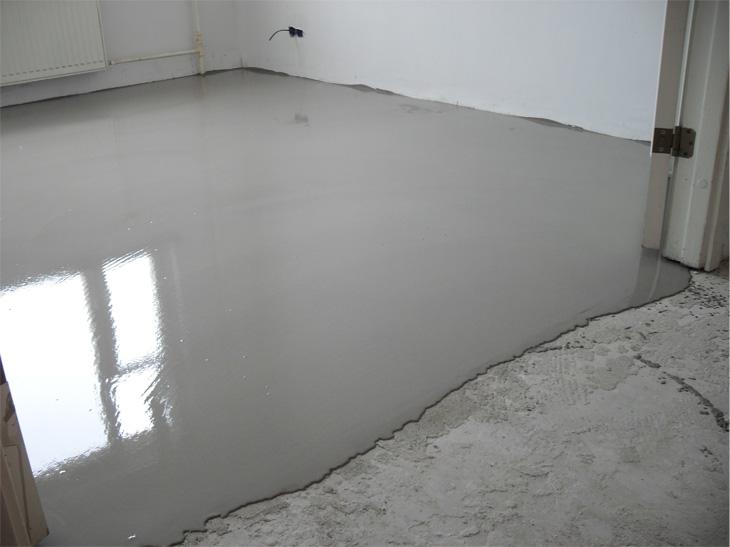 выравнивание монолитного бетонного пола