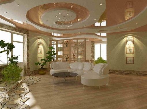 арки натяжные потолки