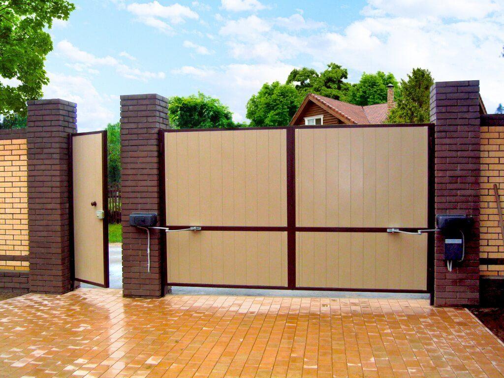 Классические распашные ворота