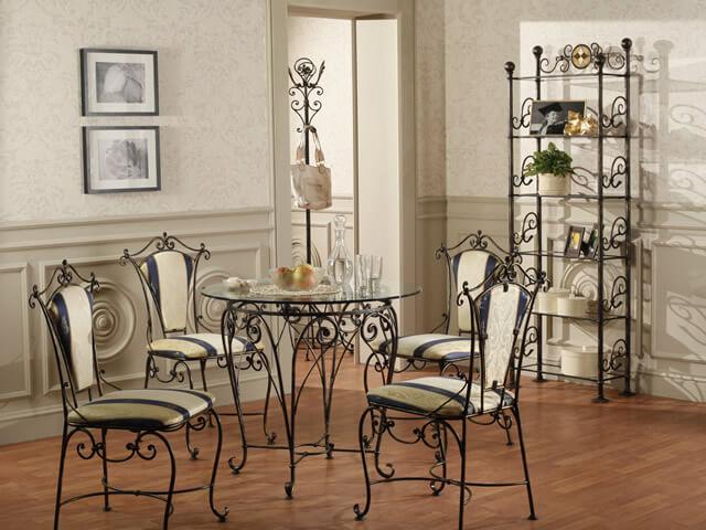 Современная кованая мебель