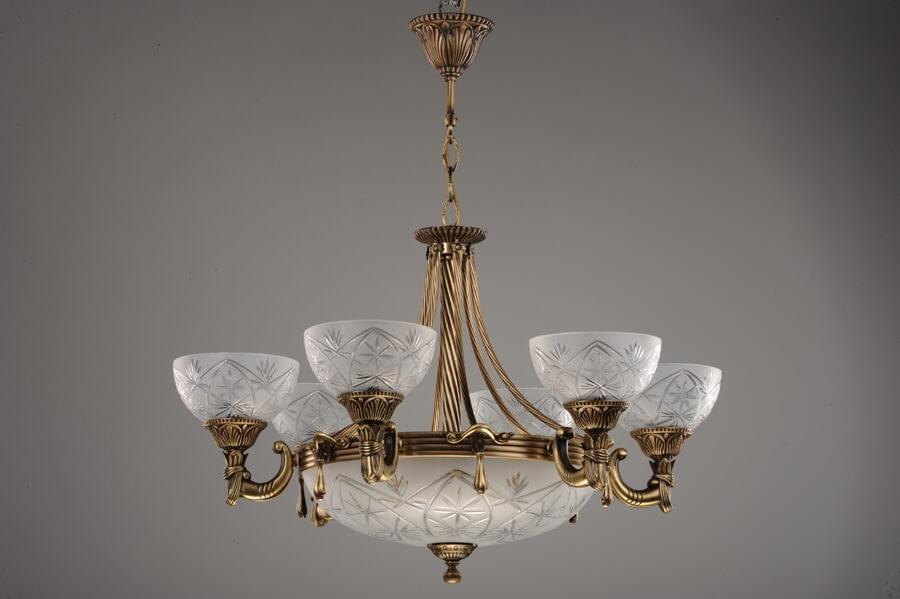 классические подвесные люстры