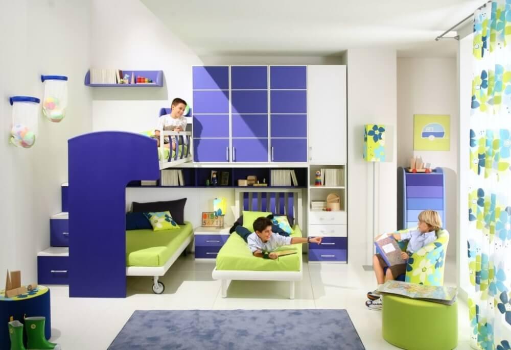 дизайн интерьера детской комнаты для мальчиков 8 лет