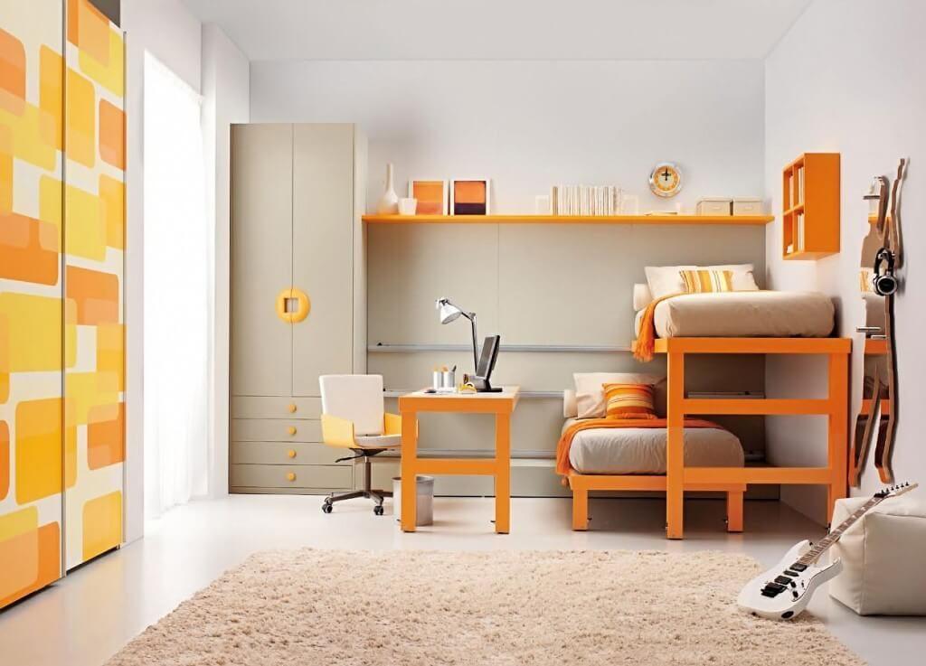 Оформление спальни подростка