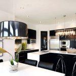 подвесная люстра на кухню