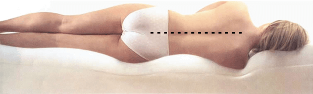 Ортопедический матрас со свойствами памяти