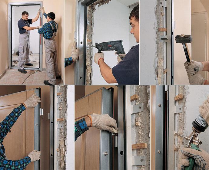 ремонт квартиры Замена дверей