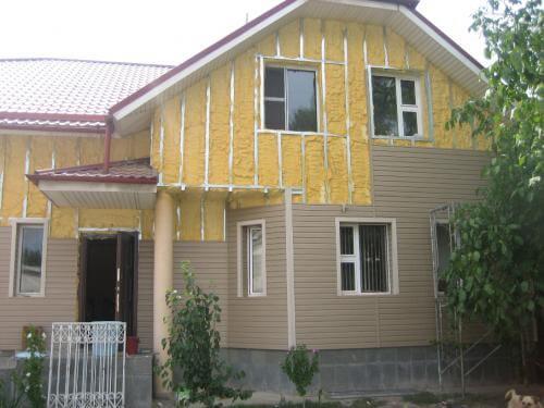 Утепляем дом с сайдингом