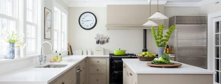 кухня светло-кофейный цвет