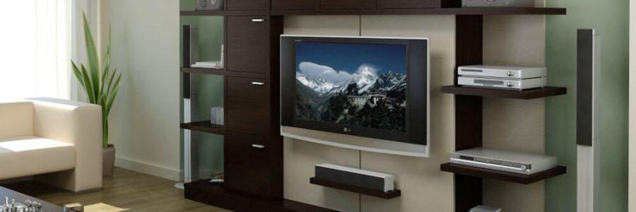 Мебель для телевизора и аппаратуры