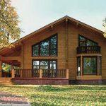 Проект дома из дерева