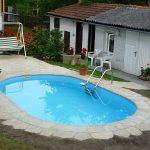 Облицовка стационарного бассейна плиткой