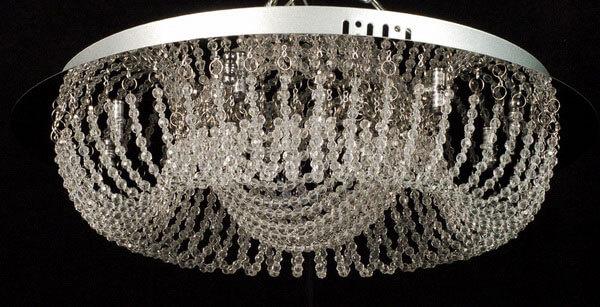 Хрустальные подвесные люстры