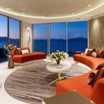 Мебель для круглой комнаты