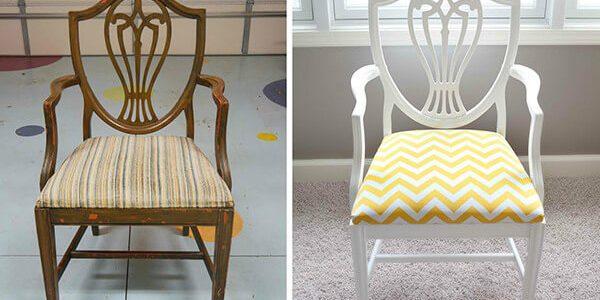 Реставрация старого стула1