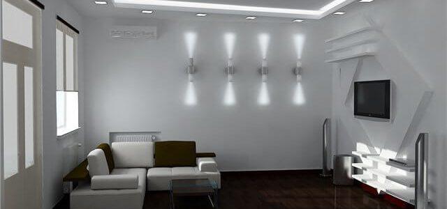 Светодиодные светильники в квартире