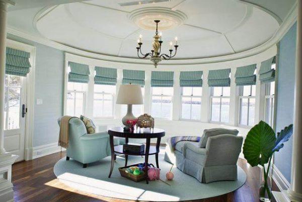 Мебель для круглой комнаты4
